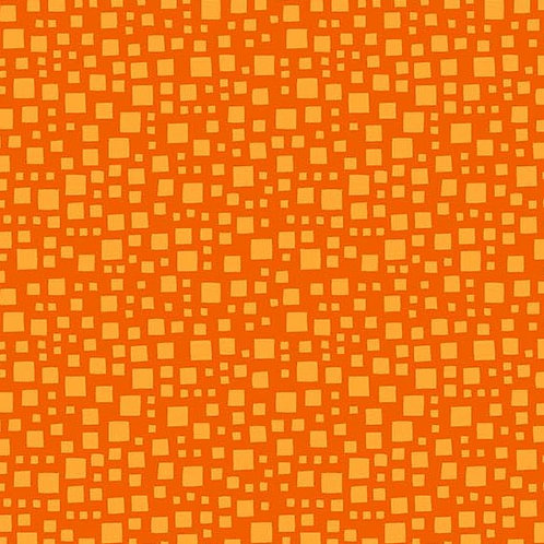 Andover Blenders AndZ Orange & Yellow A8583-O Quilt Fabric