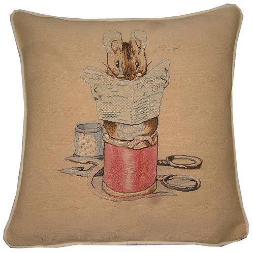 Beatrix Potter Tailor of Gloucester Tapestry Cushion Cover