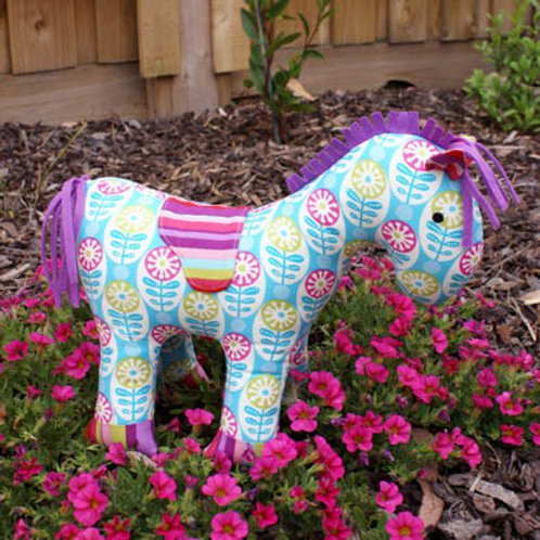 "Melly and Me ""Pippi"" Pony Soft Toy Pattern MM054"
