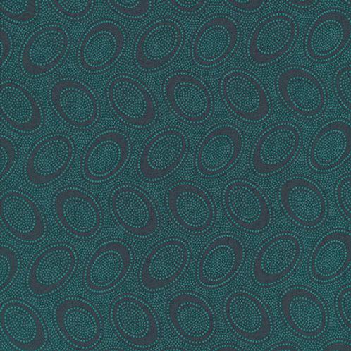 Kaffe Fassett Classics - Aboriginal Dot Charcoal GP71 CHARC Quilt Fabric