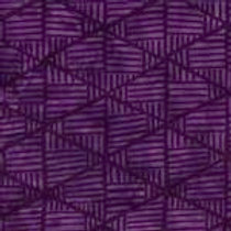 Island Batiks 611526003 Jewels & Gems Purple Triangles Quilt Fabric