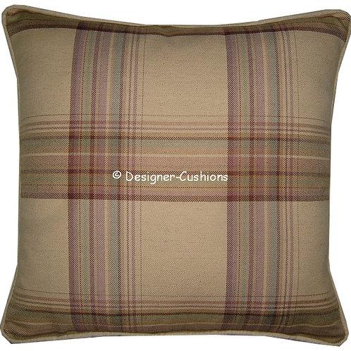 Laura Ashley Brodie Raisin Cushion Cover