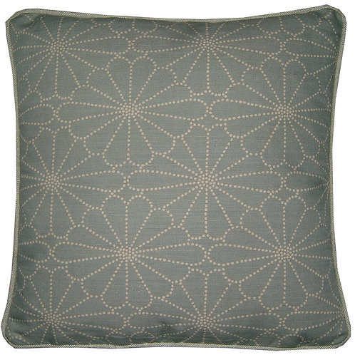 Romo Kenzan Blue Cushion Cover