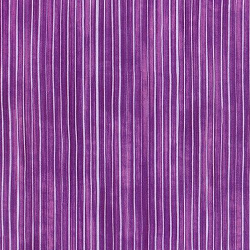 Robert Kaufman Synchronicity Stripe Pansy 18694-220 Quilt Fabric