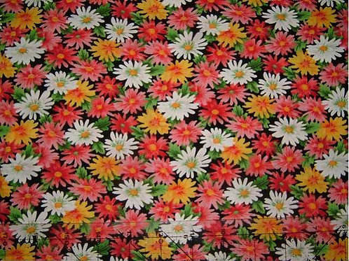 Japanese Floral Fiesta Col 5 Quilt Fabric