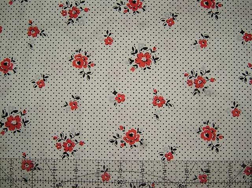 Lecien Fabulous Blooming Col 5 Quilt Fabric