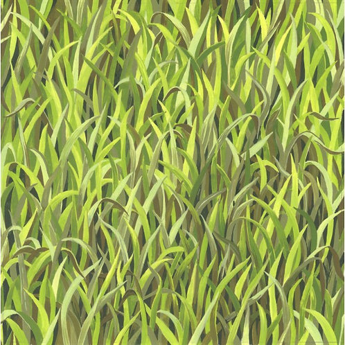 Nutex Kiwiana Grass Quilt Fabric 89950 Co1