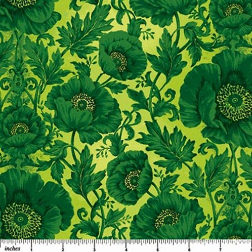 Northcott Poppy Love Floral Quilt Fabric Col 05