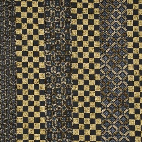 Quiltgate Hyakka Ryoran Col 24 Quilt Fabric
