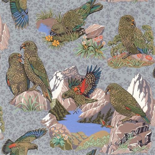 Nutex Kiwiana Kea 80230 Col1 Quilt Fabric