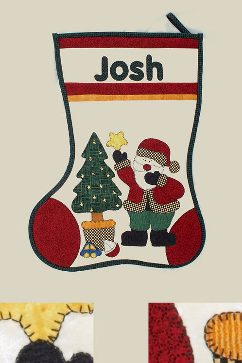 Kids Quilts 'Josh's Stocking' Pattern