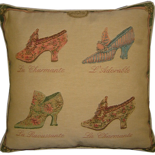 Marie Antoinette Shoes Tapestry Cushion Cover