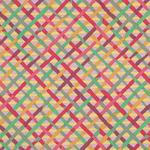 Kaffe Fassett Classics - Mad Plaid Mauve PWBM037 MAUVE Quilt Fabric