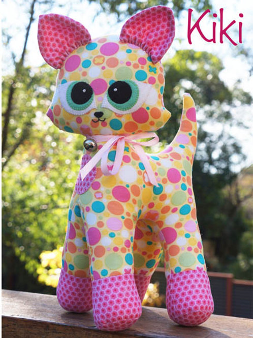 "Melly and Me ""Kiki"" Kitten Soft Toy Pattern MM122"