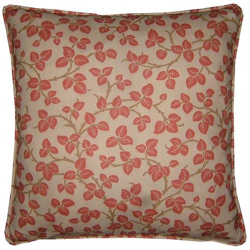 William Morris Merton Brick Cushion Cover
