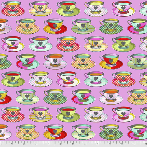 """Tula Pink """"Curiouser"""" Tea Time Wonder PWTP163 Quilt Fabric"""