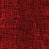 Island Batiks GKF13E-E2 Red Cross Cross Quilt Fabric
