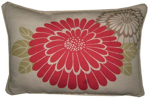 """Romo Katsura Fushia & Lime 45x35cm (18x13"""") Oblong Cushion Cover"""