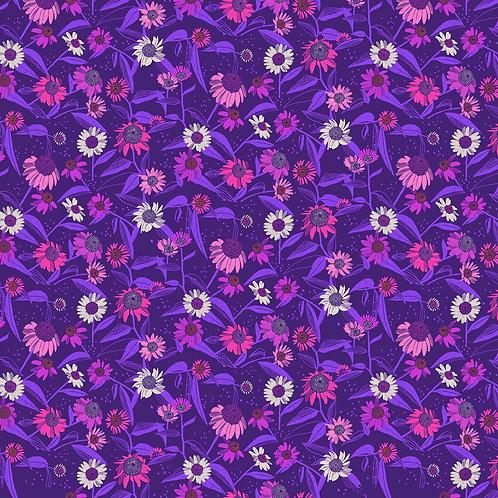 Figo Flora Purple Floral 90147-84 Quilt Fabric