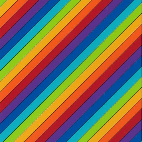 Nutex Novelty Little Noah Rainbow Multi 80190 Col7 Quilt Fabric