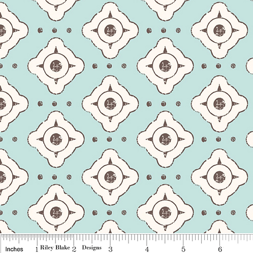 Riley Blake Paris and Company Col 4 Quilt Fabric