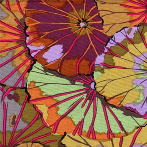 Kaffe Fassett Classics - Lotus Leaf Umber GP29 UMBER Quilt Fabric