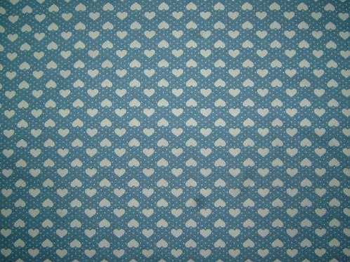 Japanese Fabrics Mini Hearts Quilt Fabric Col 4