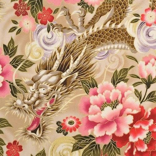 Quiltgate Hyakka Ryoran Col 01 Quilt Fabric