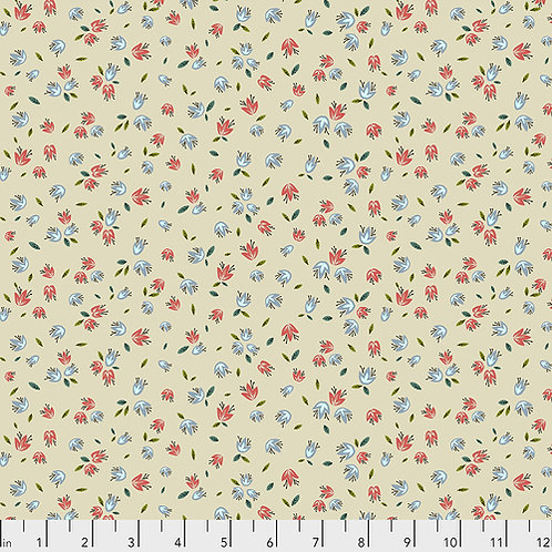 Odile Bailloeul Land Art Pollen PWOB023.CREME Quilt Fabric