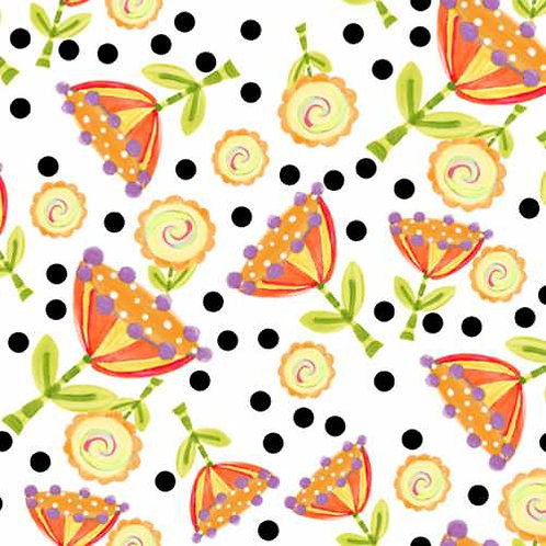 Tussie Mussie Jennifer Heyman 5JHC3 Quilt Fabric