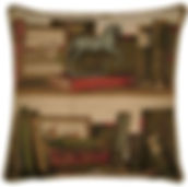 Library Theme Cushions