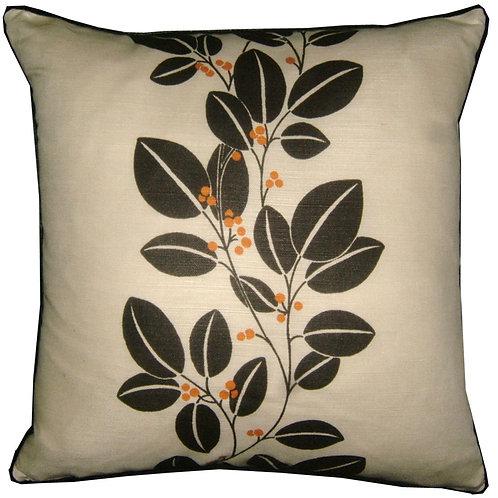 Romo Lorin Charcoal Cushion Cover