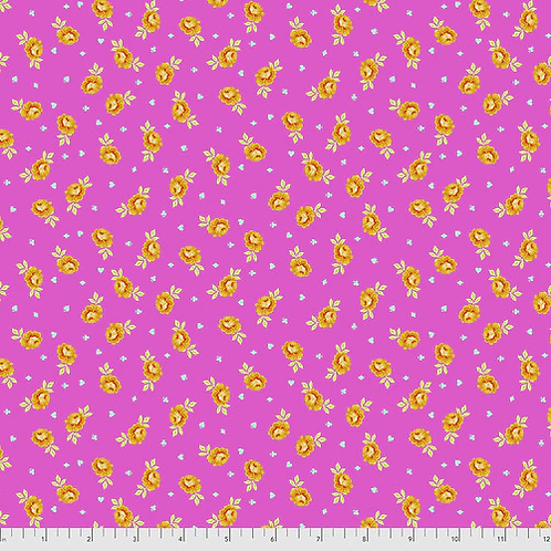 """Tula Pink """"Curiouser"""" Baby Buds Wonder PWTP167 Quilt Fabric"""