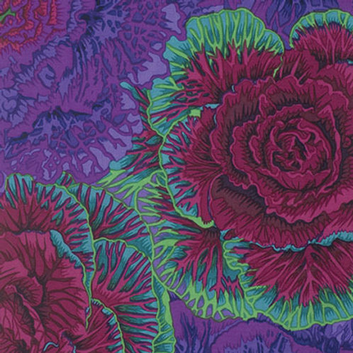 Kaffe Fassett Classics - Brassica Purple PWPJ051 PURPL Quilt Fabric