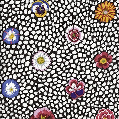 Kaffe Fassett Classics - Guinea Flower White GP59 WHITE Quilt Fabric