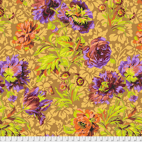 Kaffe Fassett Classics - Baroque Floral PJ090 BROWN Quilt Fabric