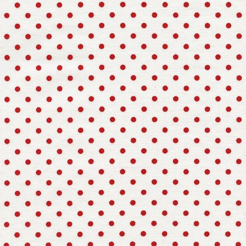 Timeless Treasures Dots - Cherry C1820 Quilt Fabric