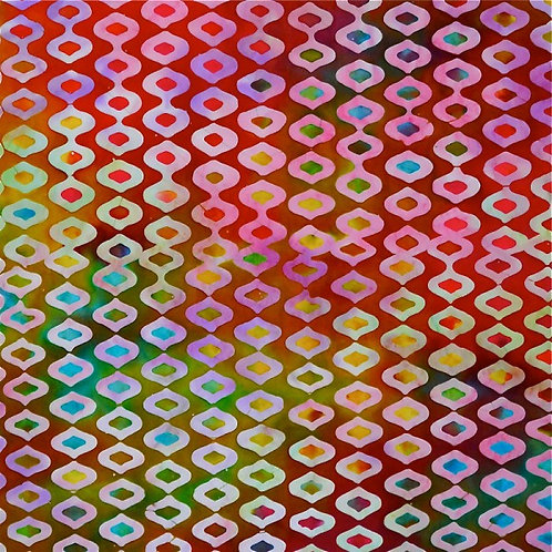 Mirah Zriya Jewel Box Batik Moonshine P/JB-01-5674 Quilt Fabric