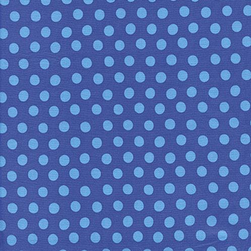 Kaffe Fassett Classics - Spot Sapphire GP70 SAPPH Quilt Fabric