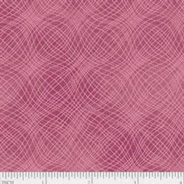 "PB Textiles ""Mesh"" Rose Blender Quilt Fabric 4725.26703ROS1"