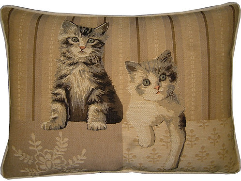 Paw Right Cats Oblong Tapestry Oblong Cushion Cover