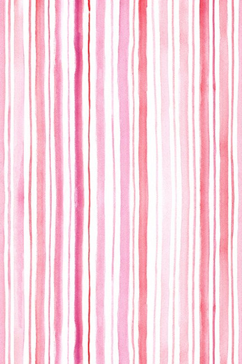 In the Beginning 'Pretty in Pink' Stripe 8PIP-1 Quilt Fabric