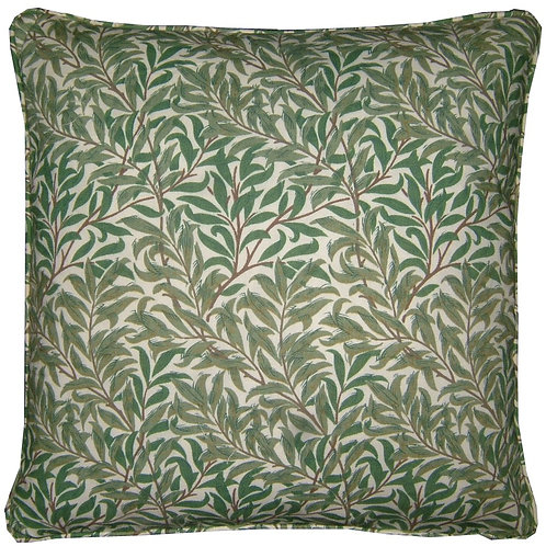 William Morris Willow White Cushion Cover