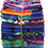 "Thumbnail: Kaffe Fassett ""Cool"" Jelly Roll - 40 x 2.5"" WOF Strips"