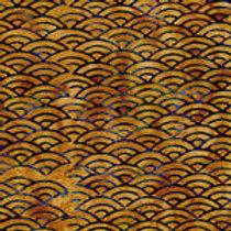 Island Batiks IKF13G-R1 Waves Quilt Fabric