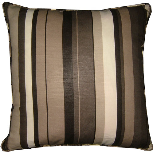 "Romo Anoko Charcoal 45cm (18"") Cushion Cover"