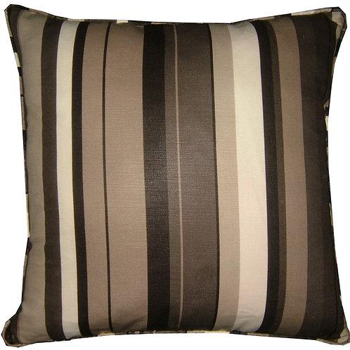 "Romo Anoko Charcoal 40cm (16"") Cushion Cover"