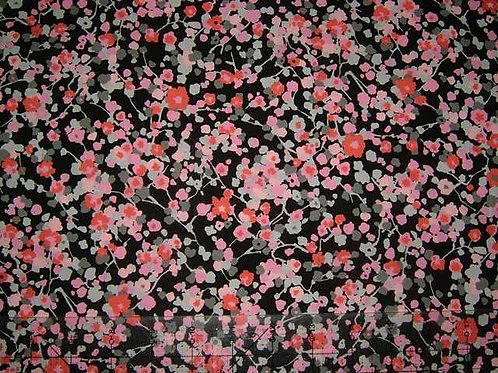Hokkoh Covent Garden Floral Quilt Fabric Col 7