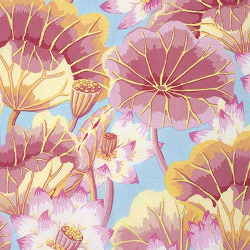 Kaffe Fassett Classics - Lake Blossoms Pink PWGP093 PINKX Quilt Fabri