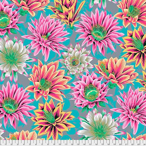Kaffe Fassett Feb2021 - Cactus Flower PJ096 TAWNY